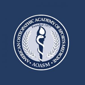 American Osteopathic Academy of Sports Medicine Logo