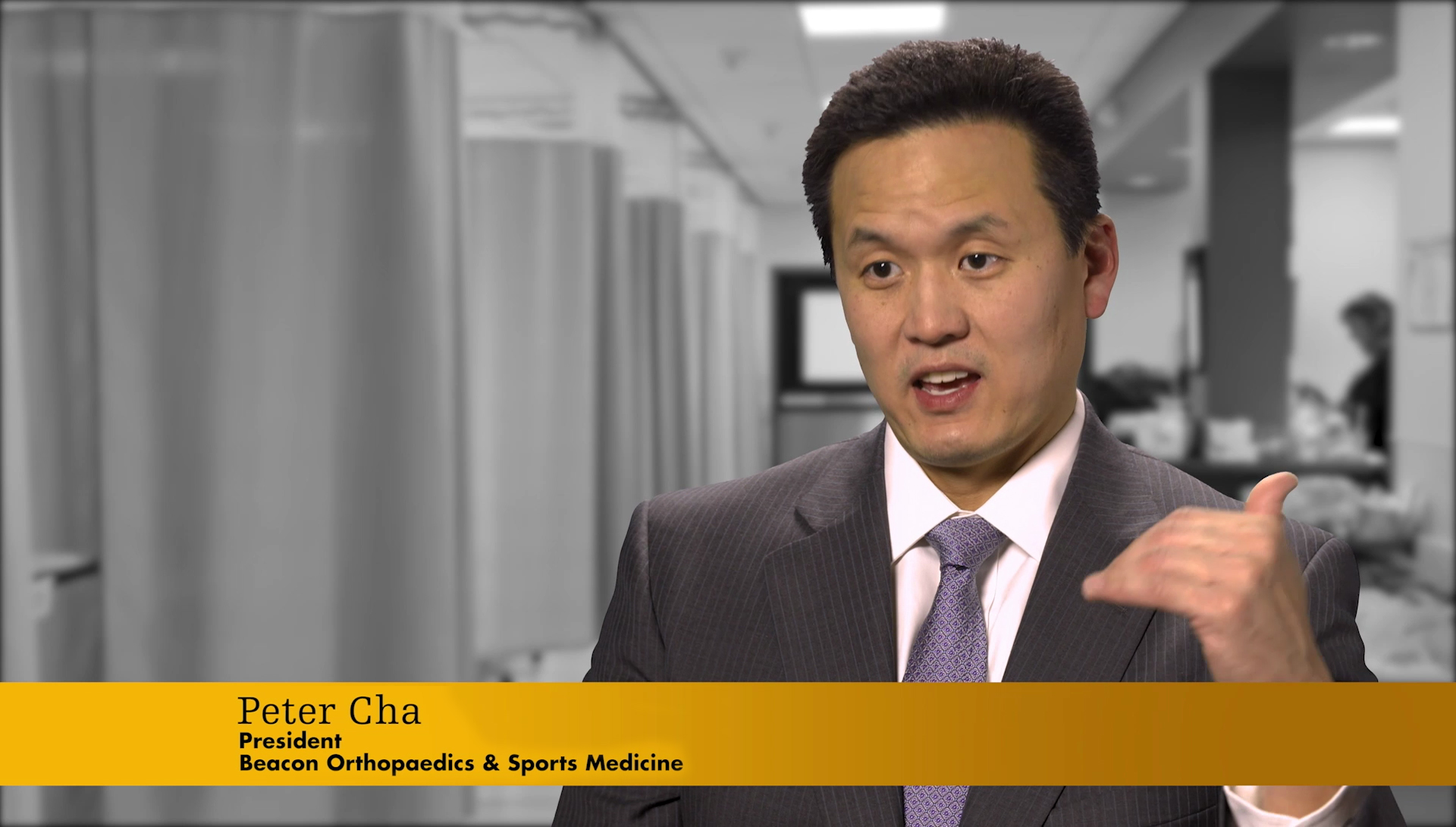 Peter Cha, M D  - Beacon Orthopaedics & Sports Medicine