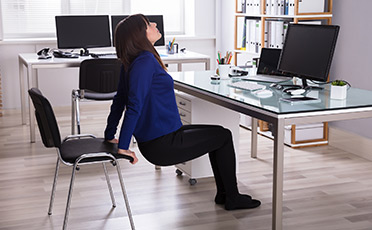 Five Exercises to Do in The Workplace