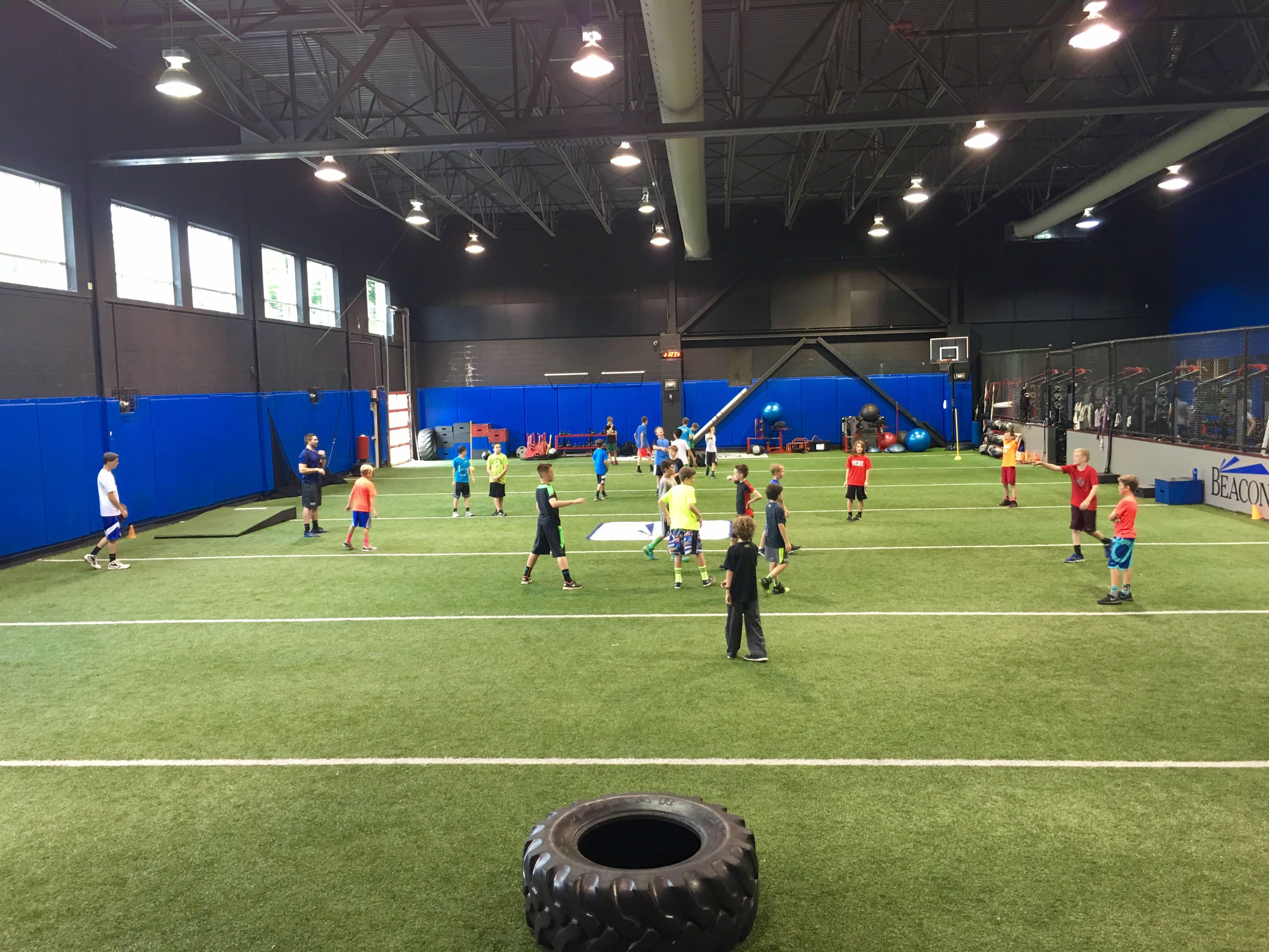 Indoor Turf at Beacon Elite Sports Training