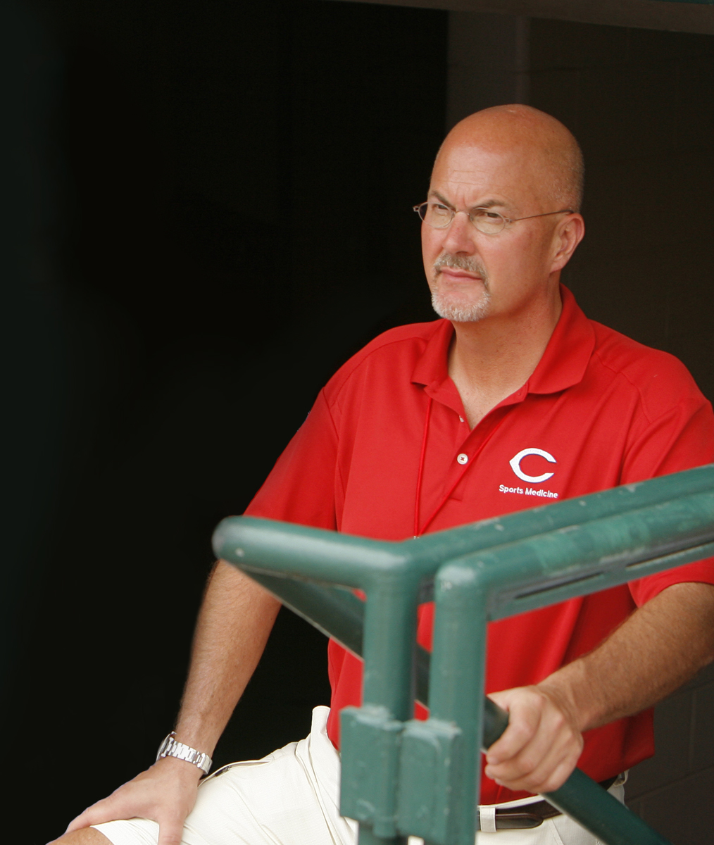 Reds Medical Director Tim Kremchek