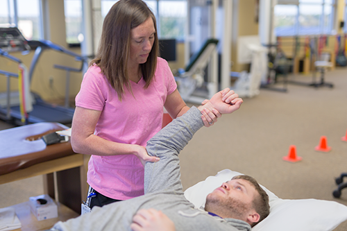 Shoulder Stretching Physical Therapy