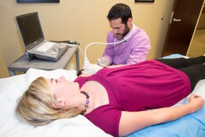 Dr. Velazquez Performs Platelet Rich Plasma Treatment